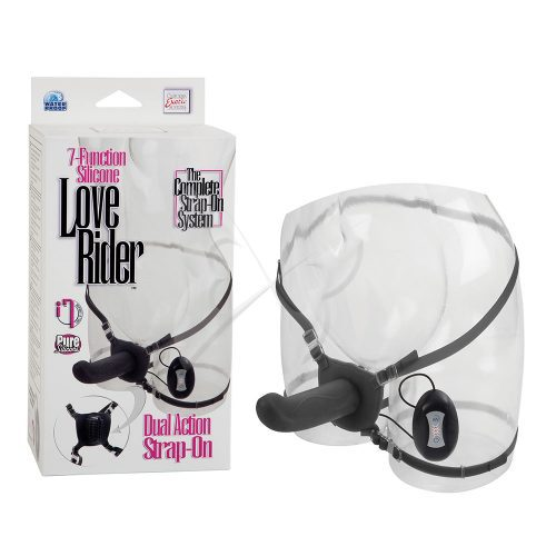 7 Function Love Rider Dual Action Strap On Box