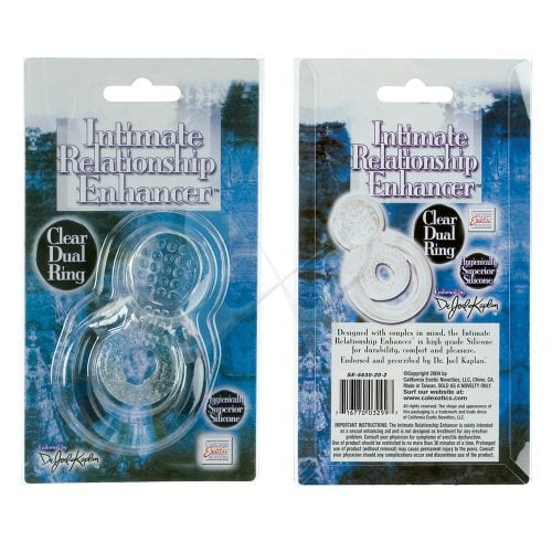 Dr Joel Kaplan Intimate Relationship Enhancer Dual Ring Box