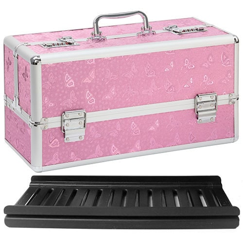 Lockable Vibrator Case Large Pink | Sex Toy Storage