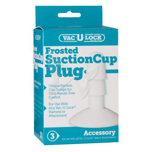 Vac U Lock Suction Cup Plug (Frost) Box