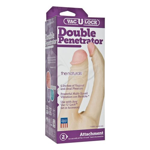 Vac U Lock Double Penetrator | Realistic Dildos | Sex Toys For Women