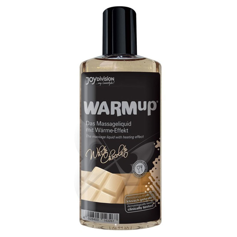 WARMup White Chocolate Massage Oil