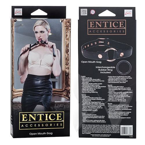 Entice Accessories Open Mouth Gag Box