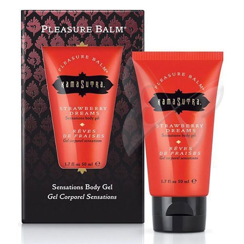 Kama Sutra Pleasure Balm (Strawberry Dreams) Sexual Enhancer