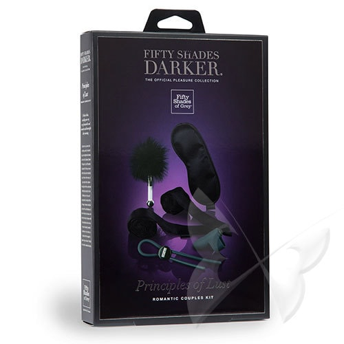 Fifty Shades Darker Principles of Lust Romance Couples Kit Box