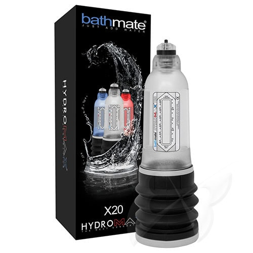 Bathmate Hydromax X20 Penis Pump (Clear) Box