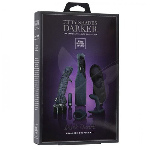 Fifty Shades Darker Dark Desire Advanced Couples Kit Box