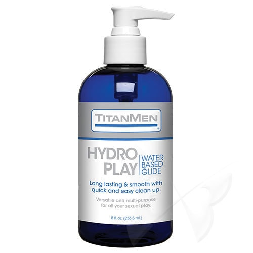 TitanMen Hydro Play Water Based Glide | Water Based Lubricants