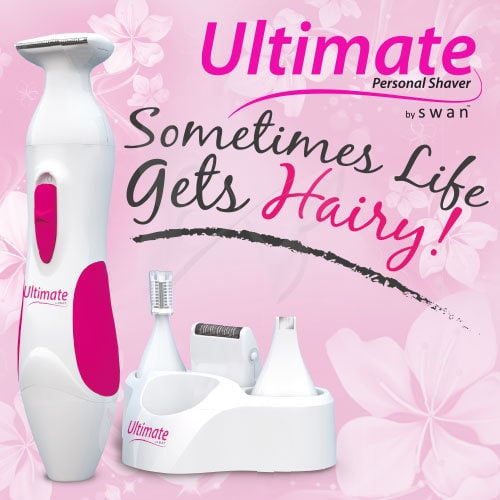 Ultimate Personal Shaver For Women Feature