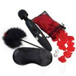 BodyWand Bed of Roses Set Luxury Massage Wand Sex Toy Kit