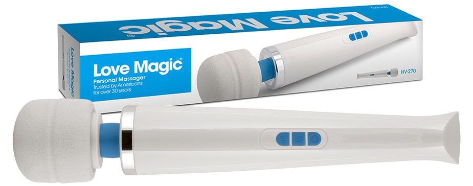 Love Magic Wands | Personal Handheld Body Massage Wands