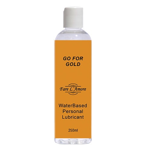 Fare L'Amore Go For Gold Water Based Lubricant 250ml