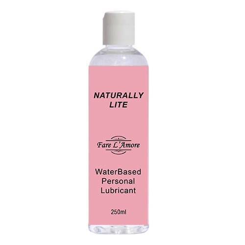 Fare L'Amore Naturally Lite Water Based Lubricant 250ml