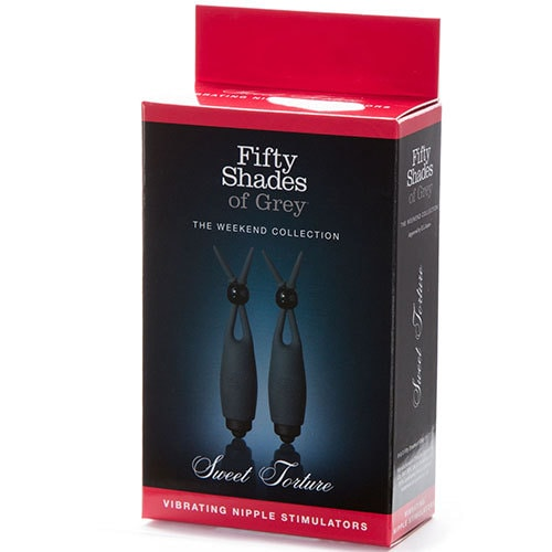Fifty Shades of Grey Sweet Torture Vibrating Nipple Stimulators Box