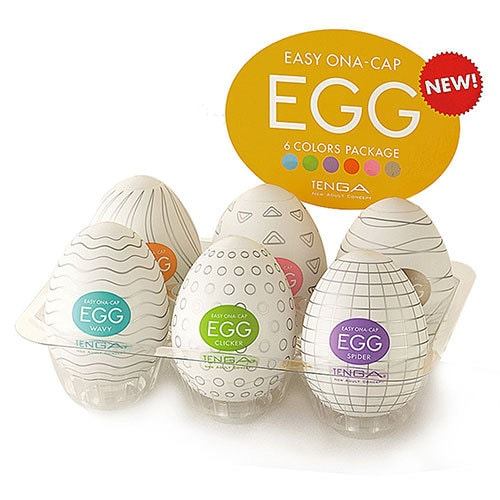 TENGA EGGS Masturbators 6 Colours Pack | Sex Toys For Men