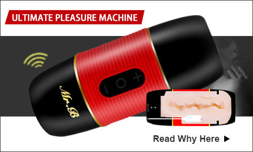 Mr B Ultimate Pleasure Machine Vibrating Handheld Masturbators
