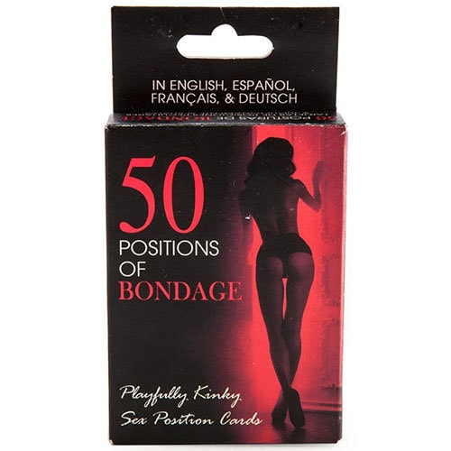 50 Positions Of Bondage Sex Position Cards | Adult Sex Games