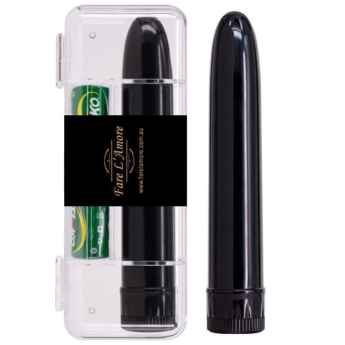 Slimline Vibrators (Black) Case