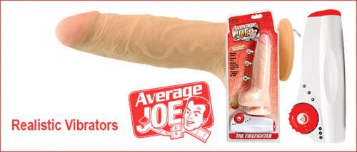 Average Joe Vibrators | Realistic Vibrators