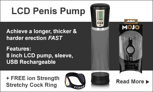 LCD Penis Pumps | Sex Toys For Men