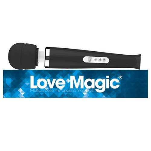 Love Magic Plus Black | Massage Wands | Sex Toys For Women