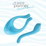 Satisfyer Partner Multifun 1 (Blue) | Sex Toys For Couples
