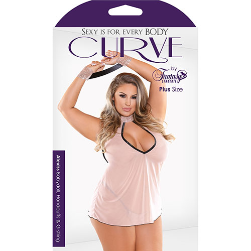 Fantasy Lingerie | Curve | Alexiss Babydoll | Sexy Lingerie