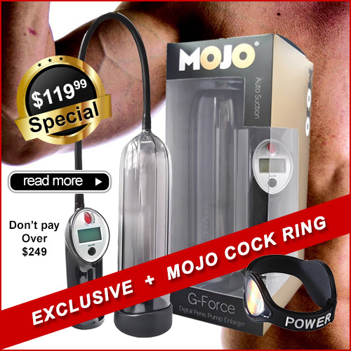 MOJO G Force | Penis Pumps
