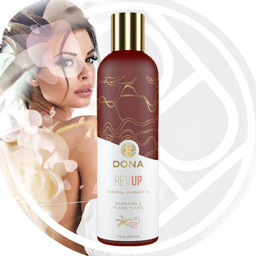 DONA Essential Massage Oil (Rev Up) 120mL | Massage Oils