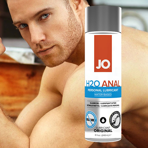 JO H2O Anal (240mL) | Water Based Anal Lubricants