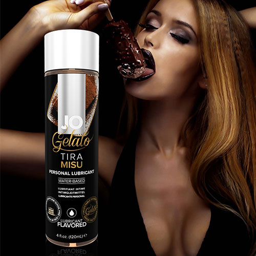 JO Gelato Tiramisu (120mL) | Water Based Flavoured Lubricants