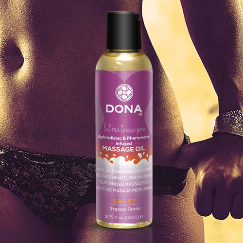 Dona | Scented Massage Oil | Sassy Tropical Tease