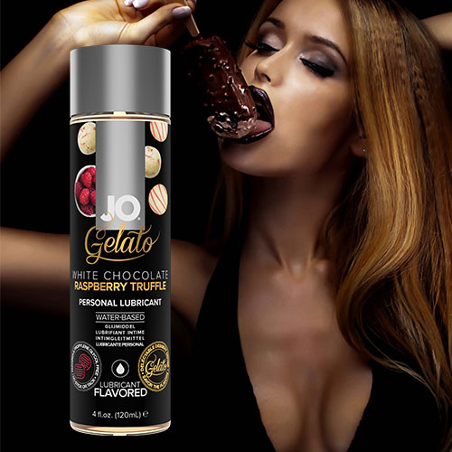 JO Gelato White Chocolate Raspberry Truffle (120mL) Lubricant