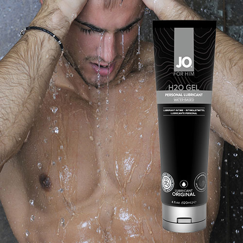 System JO H2O Gel For Him (120mL) | Water Based Lubricant