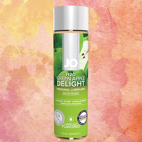 JO H2O Green Apple (120mL) | Water Based Flavoured Lubricant